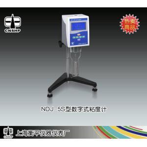 NDJ-5S型液晶显示粘度计 上海衡平仪器仪表厂