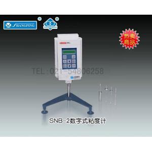 SNB-2数字式粘度计 上海精科天美贸易有限公司 市场价8400元